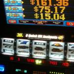 Keep an eye on your slot machine credits